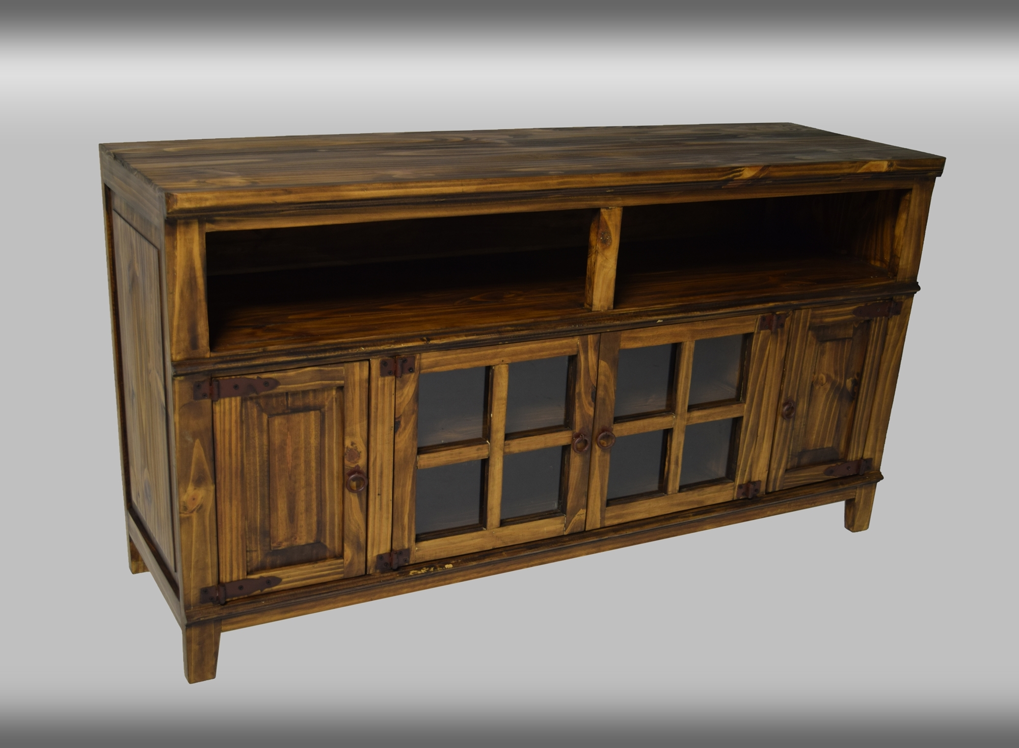Antique Hacienda TV Stand 72